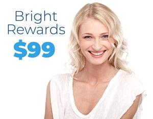 Bright rewards teeth whitening program at Sage Dental